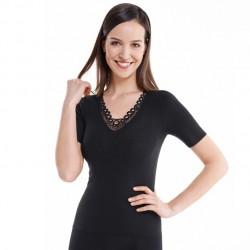 Sous-vêtement Angora manches courtes Medima