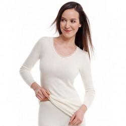 Sous-vêtement Angora manches longues