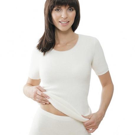 Sous-vêtement 100% Angora manches courtes Medima