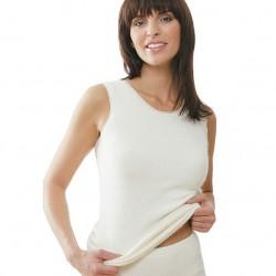 Sous-vêtement Angora sans manches