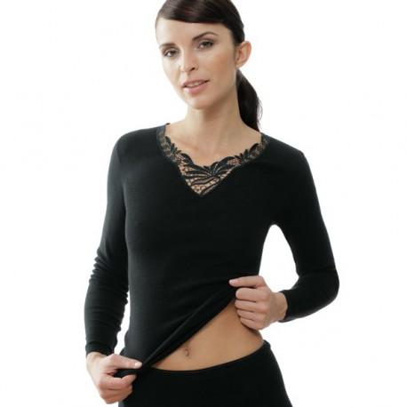Sous-vêtement Angora manches longues Medima