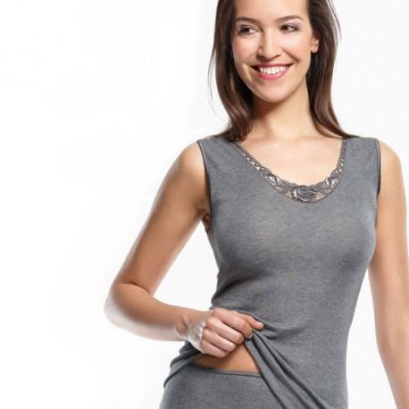 Sous-vêtement Modal sans manches Medima