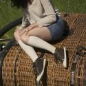 Chaussettes Femme Venoflex Fast® Lin
