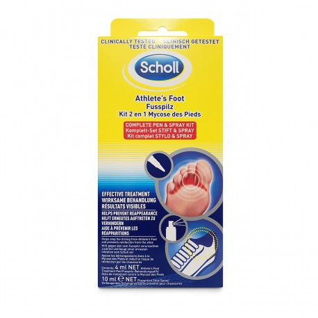 Athlete's Foot Pen & Spray Kit Scholl