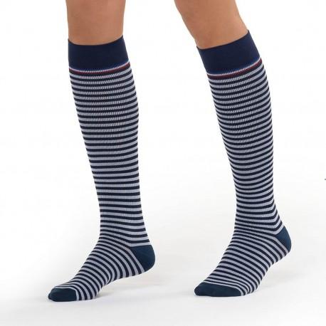 Chaussettes de compression Marinière Femme Sigvaris