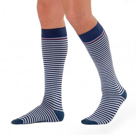 Chaussettes de compression Marinière Homme Sigvaris