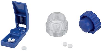 Accessoires pour médicaments, coupe comprimé, écrase comprimé