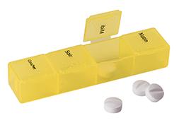 Pilulier facile à transporter