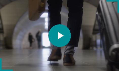 Les chaussettes styles marinière en vidéo